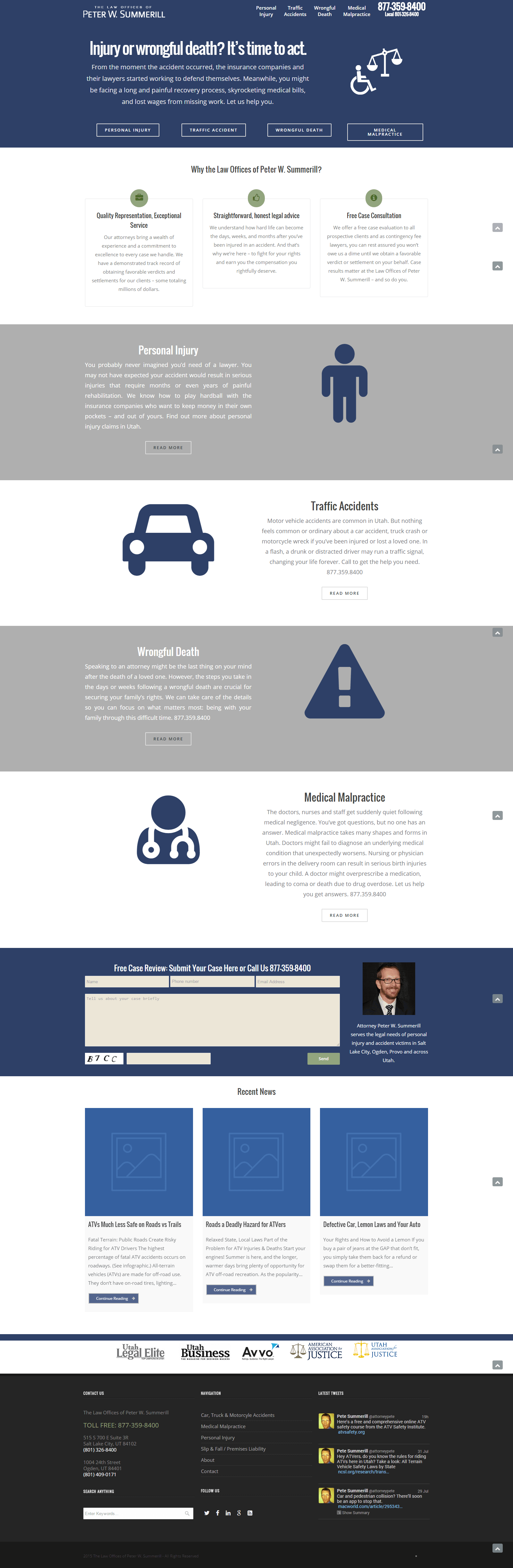 attorneysummerill - homepage