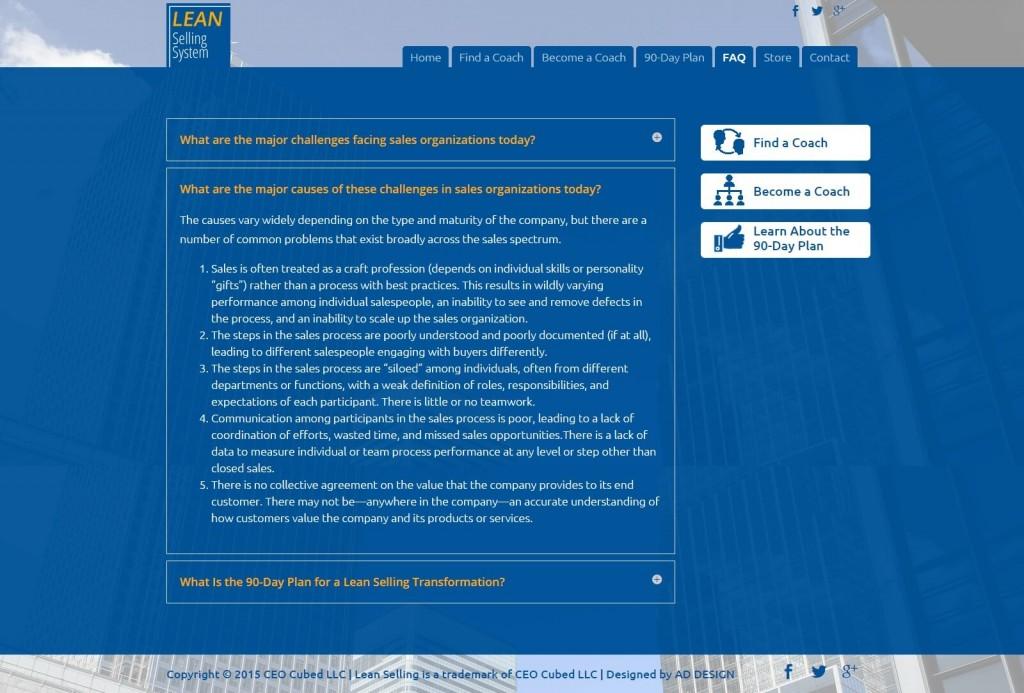 screenshot inner leansellingsystem.com