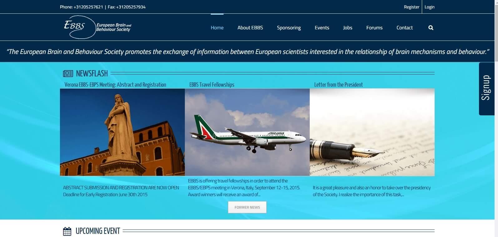 ebbs homepage