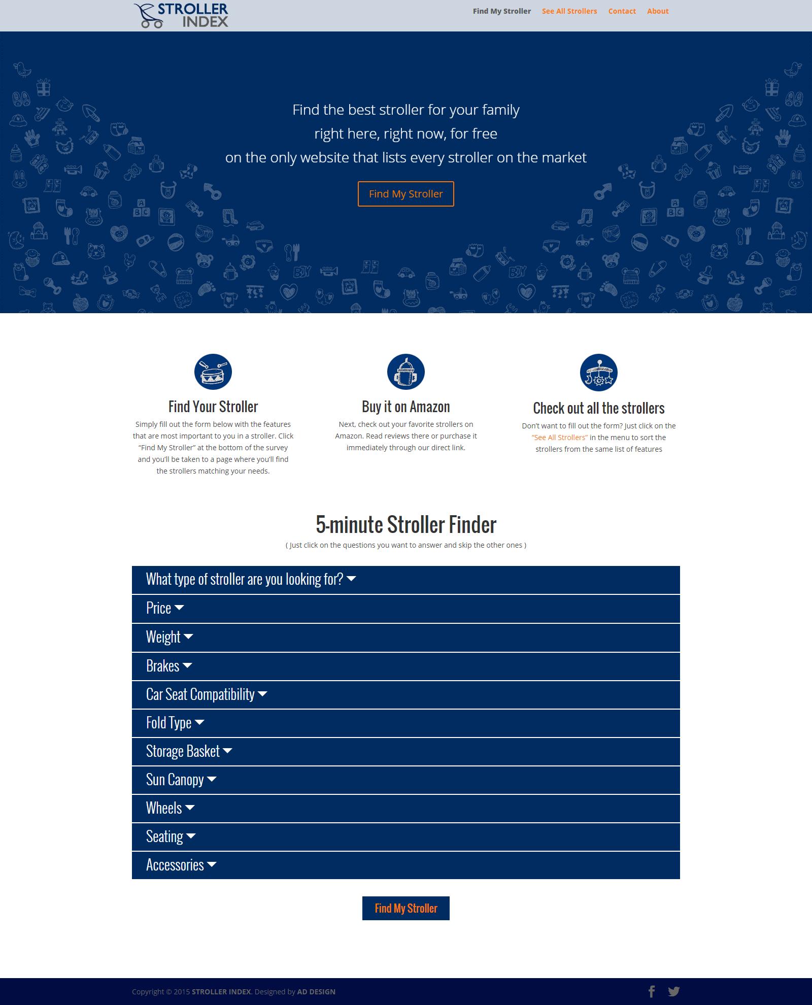 strollerindex homepage