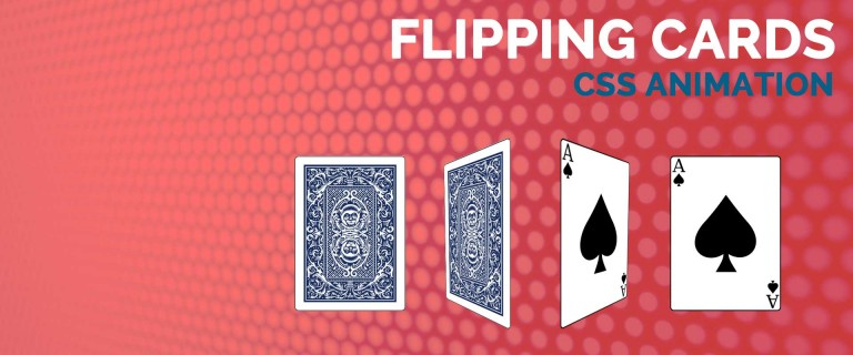How to Create Flipping Cards Animation with CSS