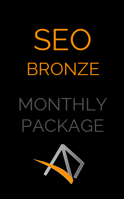 SEO Bronze - Monthly SEO package by adogandesign.com