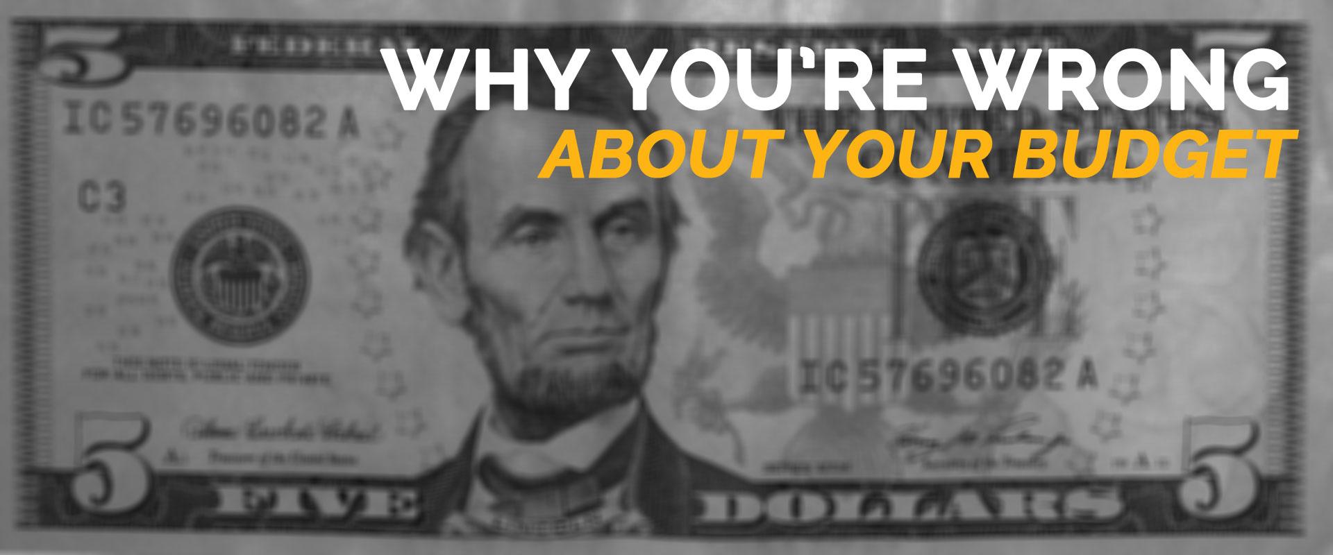 your website budget