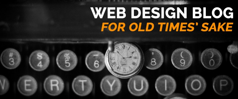 A Non SEO blog – For Old Times' Sake