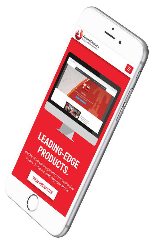 AmericanChecked website responsive design
